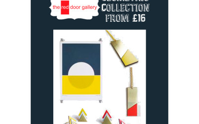 11 Sleeps Till Christmas!  Geometric Collection from £16!