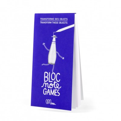 Bloc Note Games, Minus Editions, Kids, Activities, Transform Objects
