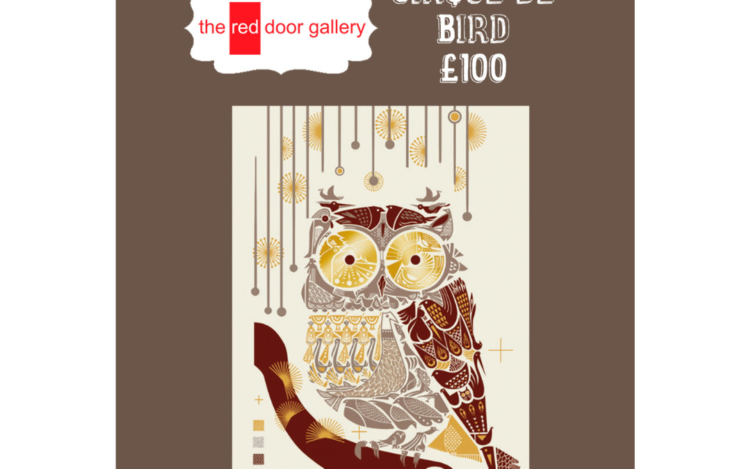 5 Sleeps Till Christmas!  Twit-Twoo – Cirque de Bird Formation For You.  £100