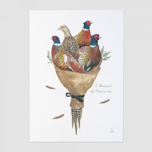 A Bouquet of Pheasants