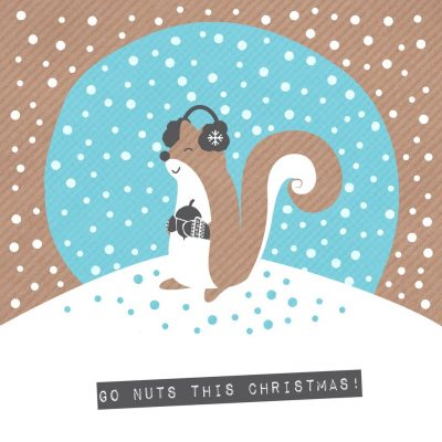 Nutty Squirrel Card
