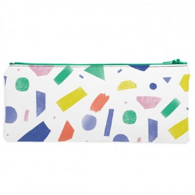 Abstract Shapes Pencil Case