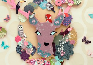 Animal Fantasy Decoration Kit - on the wall