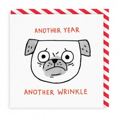 Another year another wrinkle