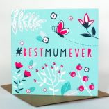 #BEST MUM EVER card