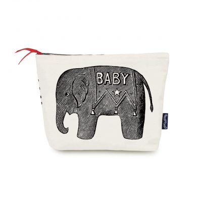 Baby Elephant Washbag large at the red door gallery