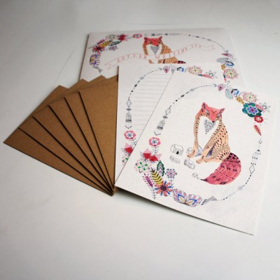 Be Leaf Fox Letter Writing Set