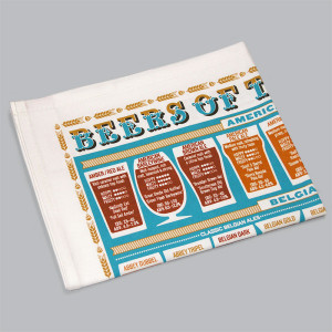 beer, beer guide, tea towel, red door gallery, stuart gardiner,