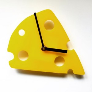 Big Cheese Clock £30