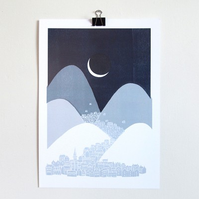 Bleak Midwinter A3 Print