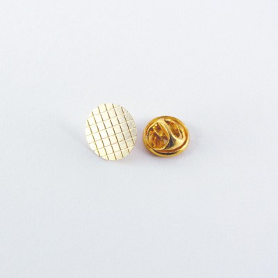 Brass Grid Tie Pin