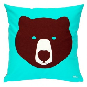 Brown Bear Ice Bear Cushion