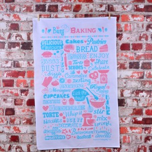 Busy BakingTea Towel