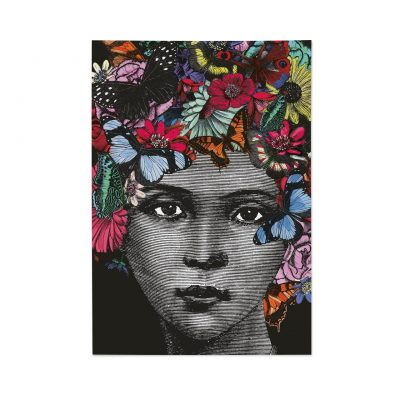 Butterfly Lady Notebook