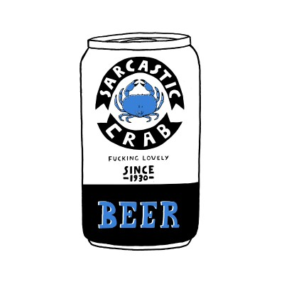 CRAB BEER by Rich Fairhead