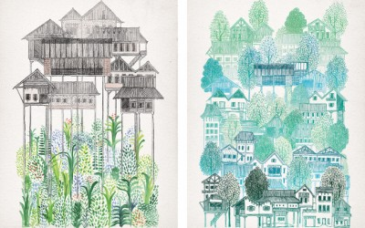 Help build schools in Cambodia by buying a David Fleck print!
