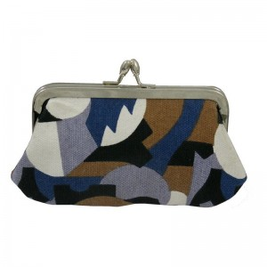 Clip Purse in Puzzle by Kate Sheridan AW 2015 - 2016