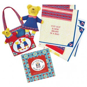 Cut out and make bear and bag + packaging by Alie Melvin