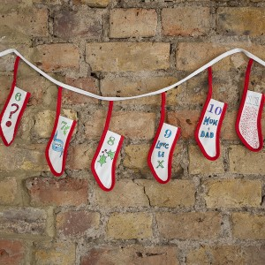Doodle Advent Calendar Buntin Example