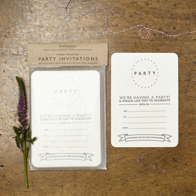Dotty Party Invitations