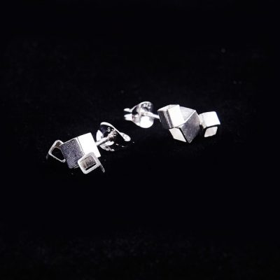 Demolition stud earrings