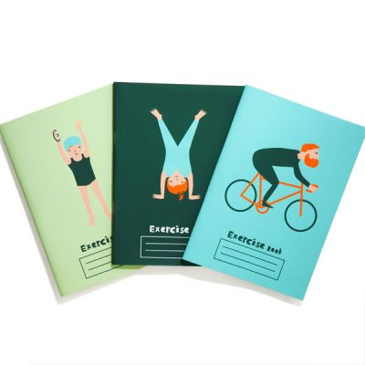 exercise notebooks by donna wilson