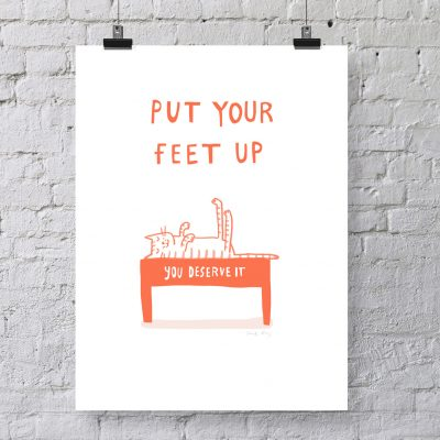 Put Your Feet Up by Sarah Ray
