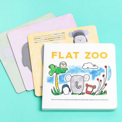 Flat Zoo, Books, Kids, What are you good at, Animals, Play Books, pop out