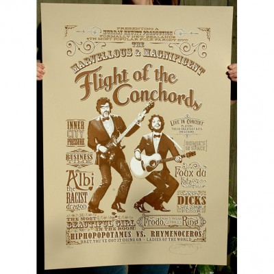 Flight of the Conchords by Barry Bulsara