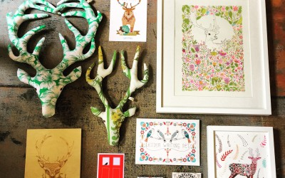 FridayFavourites – Floral Stags