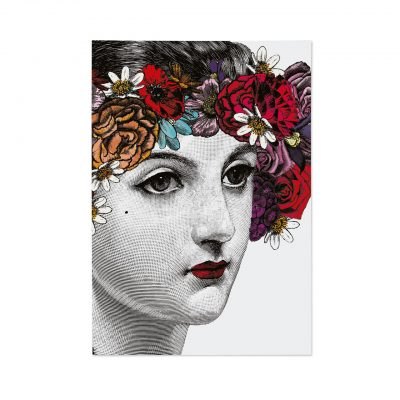 Flower Lady Notebook