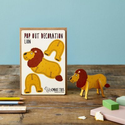 Lion by The Pop Out Card Company