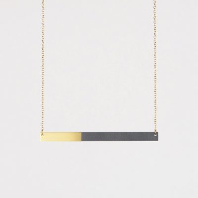 Form Bar Necklace by Tom Pigeon