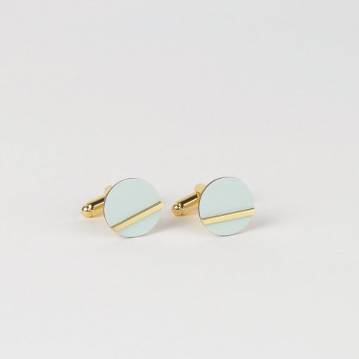 Form Cufflinks by Tom Pigeon