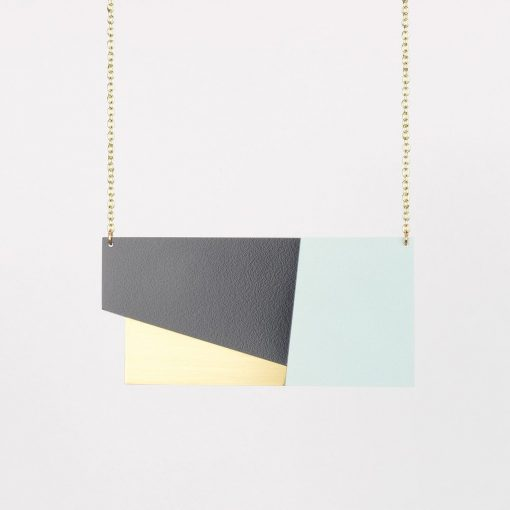 Form Panel Necklace by Tom Pigeon