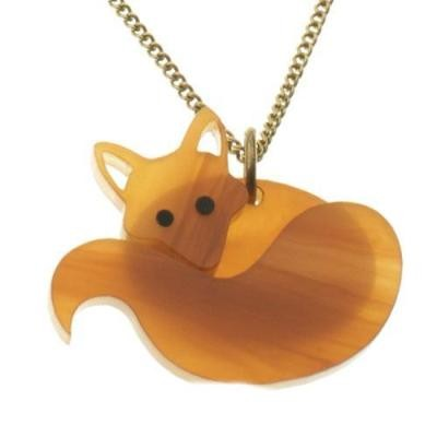 Fox Necklace Honey