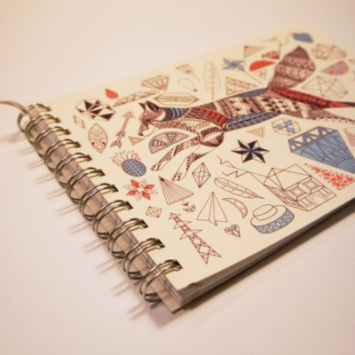Fox and Diamonds Yearly Planner 2015