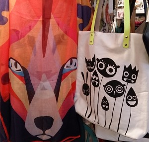 Fox and Flowers Bag
