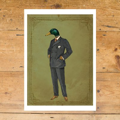 Francis Drake, Duck, Half Duck Half Human, animals in suits, ben rothery