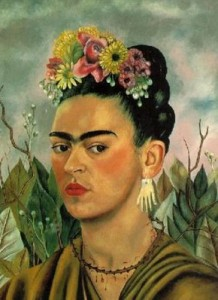 Freida Kahlo Self Portrait