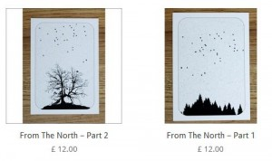 From The North prints by the lindstrom effect