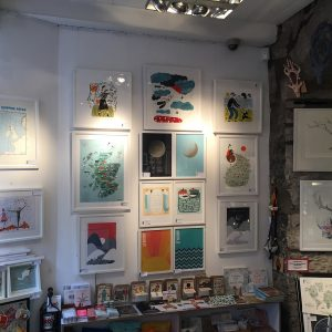 gallery walls, red door gallery, cosy gallery, hygge, behind our red doors