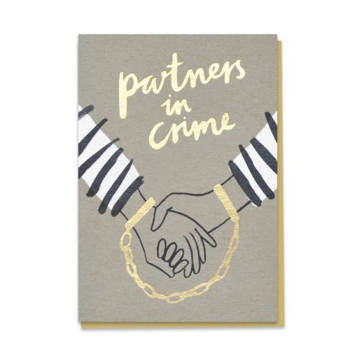 Partners in Crime Card by Stormy Knight