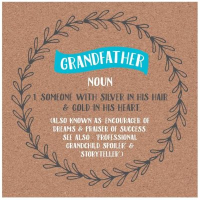 Grandfather Definition Card by allihopa at the red door gallery