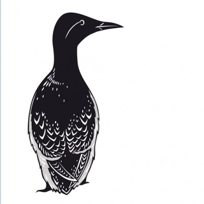 Guillemot Card Emily Hogarth