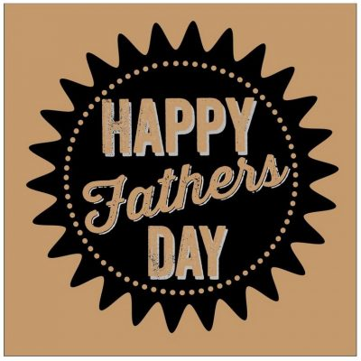 Happy Fathers Day Card by allihopa at the red door gallery