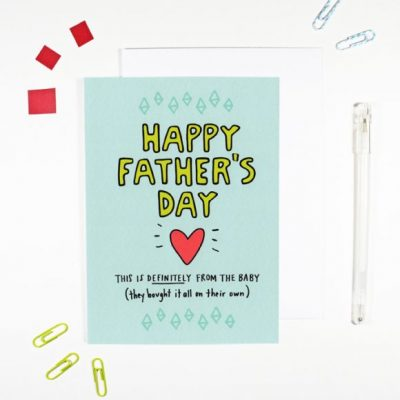 Happy-Fathers-Day-From-The-Baby-by-Angela-Chick-for the red door gallery