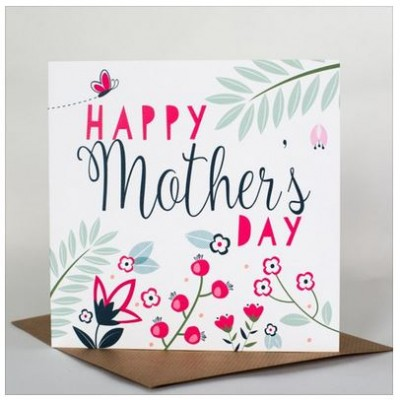 Happy Mothers Day Card Card by Allihopa