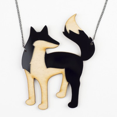 Hello Sunshine MrFox necklace 01