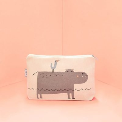Tirso The Hippo Multipurpose Case by Mon Collection